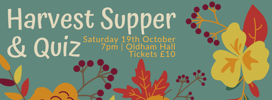 Harvest Supper and Quiz